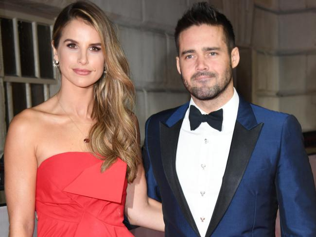 Vogue Williams said yes to Spencer Matthews' proposal. Picture: Stuart C. Wilson/Getty Images