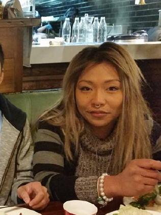 Rachel Diaz at a Sydney family dinner.