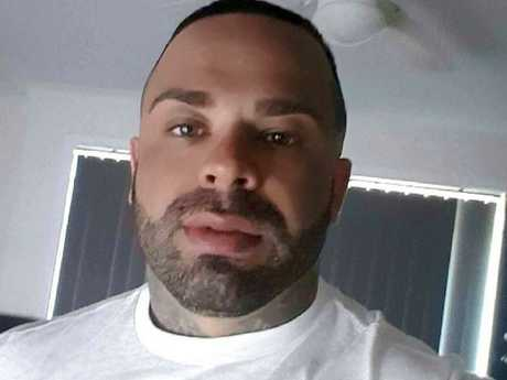 Finks bikie Troy 'Fono' Fornaciari has sculpted his eyebrows and added a few neck tattoos, but the face is still tattoo-free.