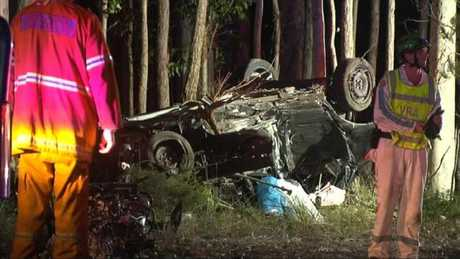 Police are yet to interview the driver of the Ford Falcon. Picture: Prime 7 News