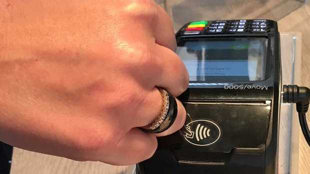 Payment rings have arrived in Australia, allowing contactless purchases at your fingertips.