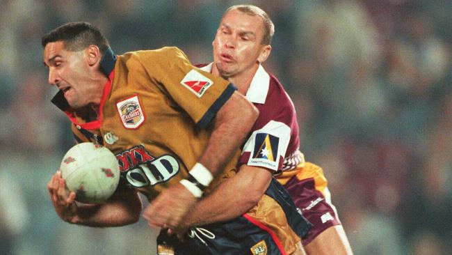 It's been more than 20 years since the last all-Brisbane derby between the Broncos and South Queensland Crushers.