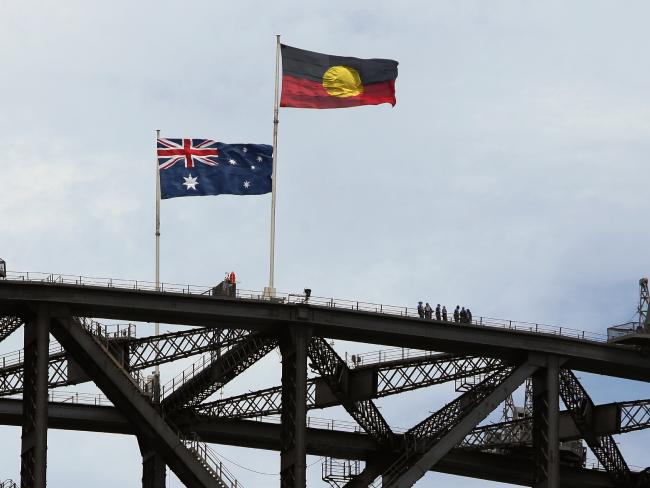 The indigenous flag is only displayed on the Harbour Bridge 15 times a year.