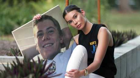 Tayla Pearson honours the memory of her brother, Kodi, who died in 2016.