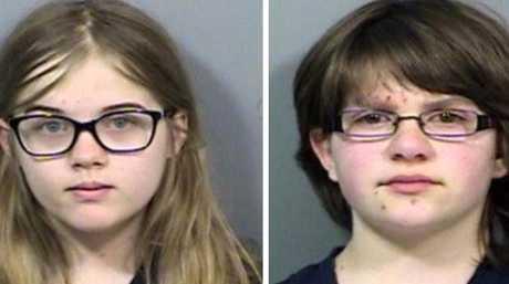 Anissa Weier and Morgan Geyer stabbed their friend Payton 19 times. Supplied: TV Upstream