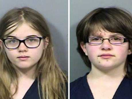 Anissa Weier and Morgan Geyer stabbed their friend Payton 19 times. Supplied: TV Upstream