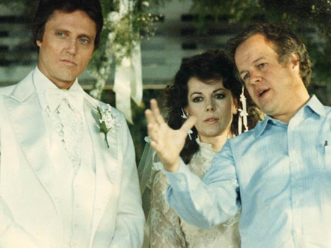Christopher Walken, with good friend Natalie Wood and Doug Trumbull. Picture: Supplied
