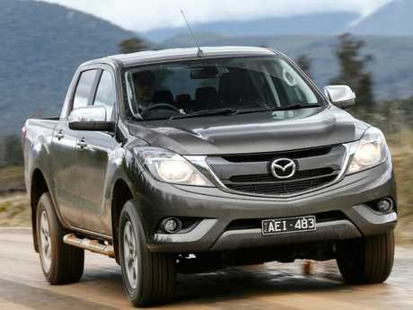 Mazda's BT-50 is based on the Ford Ranger.