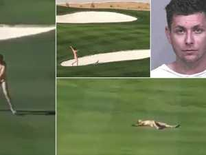 Streaker takes over PGA tournament