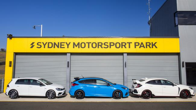 Thanks to Sydney Motorsport Park for our time on the Amaroo Circuit for this road and track test. Picture: Mark Bean.