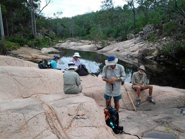 Bushwalkers in the Gladstone region