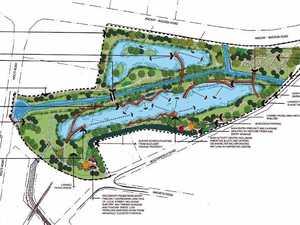 Multi-million dollar artificial wetland crops up