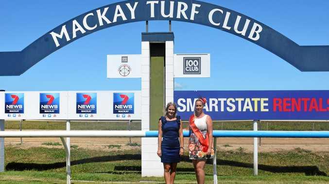 Judges for Mackay Turf Girl 2018 Samantha Nutt and Belinda Ogilvie.