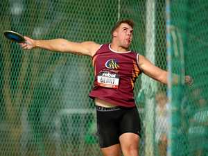 Downs' throwers in good start at state champs