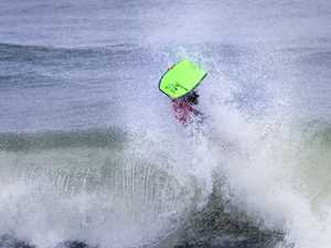 Bodyboarders battle for state titles at Dicky Beach