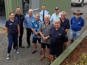 Island's new rural fire station opened by Gladstone MP
