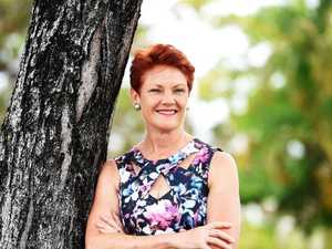 Hanson urges Turnbull to build Central Qld coal rail line