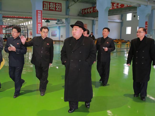 Kim Jong-un is a rational but unpredictable leader. Picture: AFP/KCNA via KNS
