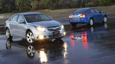 Holden Cruze: Sedans were first to arrive.