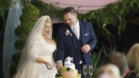 Married at First Sight contestants Jo and Sean. Nine may pretend it's about finding love for couples, but it's actually just ritual humiliation. (Pic: supplied)