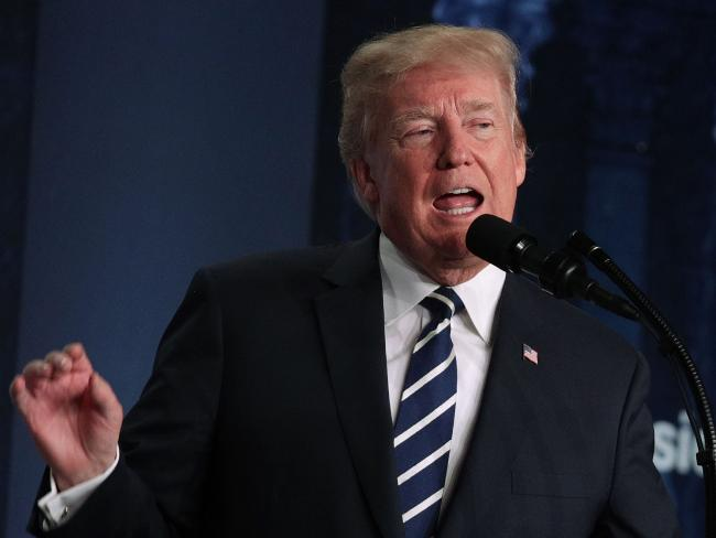 Sue Mi Terry argues Donald Trump's aggressive rhetoric on North Korea is 'not helpful'. Picture: Alex Wong/Getty Images/AFP