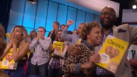 Audience members were genuinely shocked by the generous reward.(Supplied)