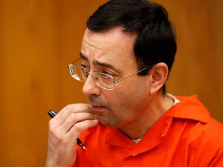 Former Michigan State University and USA Gymnastics doctor Larry Nassar. Picture: AFP/Jeff Kowalsky