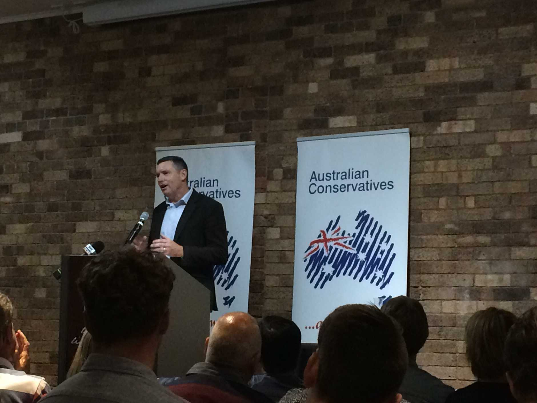 Lyle Shelton has joined the Australian Conservatives