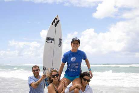 CHAMP: Isabella Nichols won the Mothernest Tweed Coast Pro.
