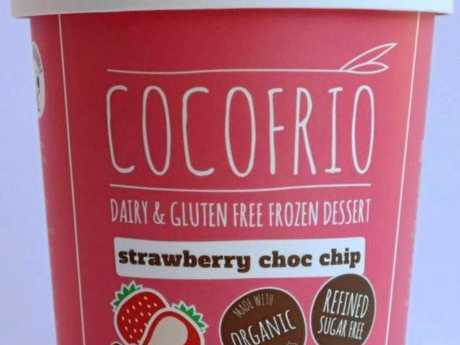 PROBLEM: The Cocofrio ice cream that has undeclared allergens.