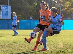 Toowoomba winger's first goal helps Roar win title