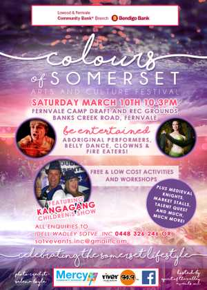 Colours of Somerset Arts and Culture Festival | What's On