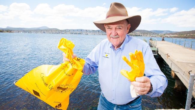 Clean Up Australia Day chairman and founder Ian Kiernan.