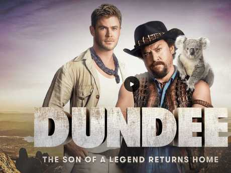 Tourism Australia   refused to comment on rumours the Dundee show reels were part of a Super Bowl ad campaign.