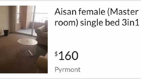 A gumtree ad seeking an Asian female.