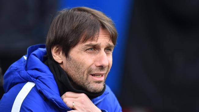 Chelsea's Italian head coach Antonio Conte
