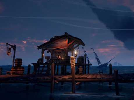 Sea Of Thieves shows a lot of promise as a multiplayer game.