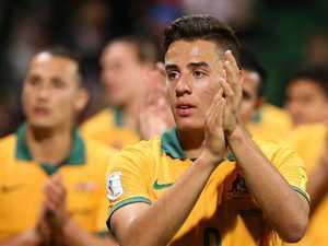 Bert's presence spurs on Socceroos hopefuls