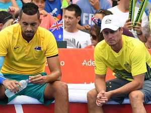 Where to now for Aussies' Davis Cup future?