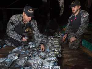 Navy seizes whopping heroin haul