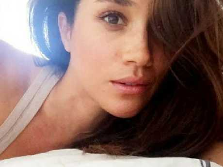 One of the since-deleted pics from Meghan Markle's Instagram.