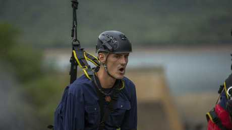 Bernard Tomic on I'm A Celebrity ... Get Me Out Of Here! Picture: Network Ten
