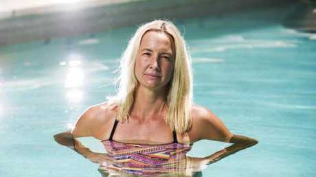 Olympic swimmer Brooke Hanson almost drowned as a toddler. Picture: Nigel Hallett