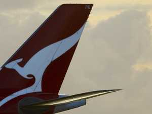 Qantas mechanical failure means flyers left 1800km away