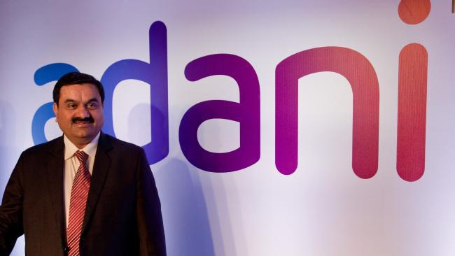 Adani Group chairman Gautam Adani said it was aggressively pushing renewable energy.