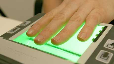 Fingerprint scanners will be part of the building's security.