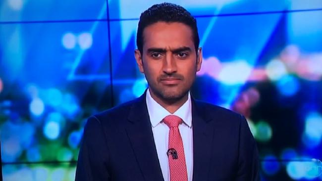 Waleed Aly responds to an awkward TV moment on The Project.Source:Supplied