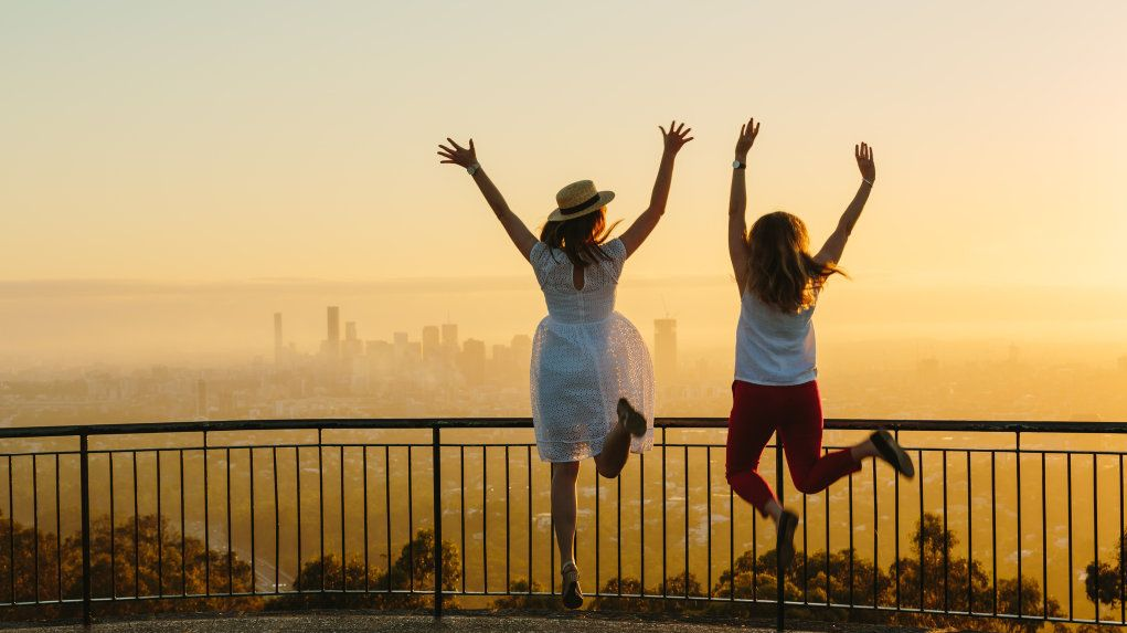 A morning hike is the perfect way to start the weekend. Try Mt Coot-tha for a stunning sunrise moment at the lookout.