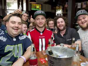 Super Bowl celebrated at the Cow