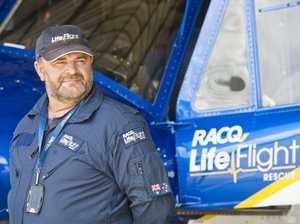 Off duty LifeFlight pilot first on scene